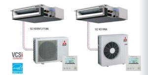 Ductless Mitsubishi Sez Series Air Conditioner Climate