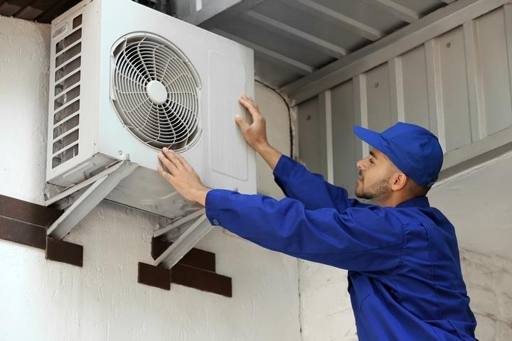 Test the HVAC system.