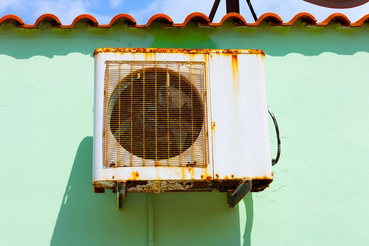 Your AC won't turn on because it's too old & rusty