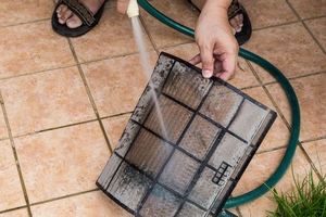Wash the air filter