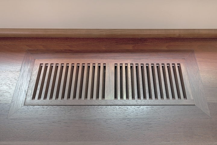 Close the vents in unused rooms