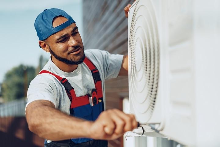 Schedule regular air conditioner maintenance